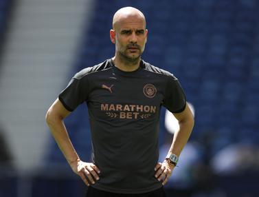 Intip Latihan Manchester City Jelang Hadapi Chelsea