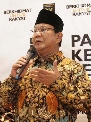 Pertemuan Prabowo dan Petinggi PKS
