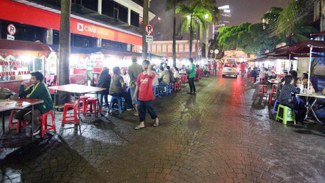 5 Lokasi Wisata Kuliner Ibukota Paling Asyik Di Malam Hari