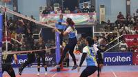 Kejuaraan Livoli Divisi Utama 2019 di GOR Dimyati Tangerang, Minggu (13/10/2019). (Foto: Livoli)