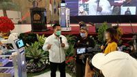 Peluncuran robot kreatif energik cantik dan elegan (KECE) generasi kedua buatan Universitas Negeri Surabaya (Unesa) via daring pada Kamis, (17/9/2020). (Foto: Dok Istimewa)