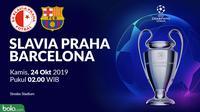 Liga Champions - Slavia Praha Vs Barcelona (Bola.com/Adreanus Titus)