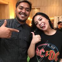 Abdul Idol dan Nagita Slavina (Foto: Instagram/raffinagita1717)