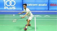 Pebulutangkis tunggal putra Indonesia, Firman Abdul Kholik, lolos ke babak kedua China Masters Grand Prix Gold 2017 setelah mengalahkan wakil tuan rumah Ren Pengbo dengan skor 13-21, 21-13, 21-18, Selasa (18/4/2017). (PBSI)