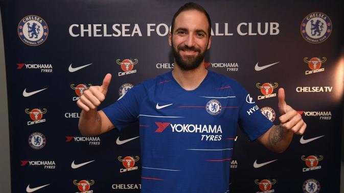 3 Alasan Gonzalo Higuain Bakal Kesulitan Beradaptasi dengan Permainan Chelsea - Inggris Bola.com