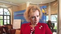 Duta Besar Rusia untuk Indonesia Lyudmila Vorobieva (Liputan6.com/Teddy Tri Setio Berty)