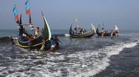 Ilustrasi nelayan di perairan Bangladesh (AFP Photo)