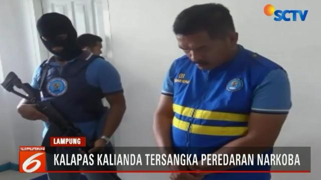 Kalapas diduga terlibat dalam jaringan narkoba yang dikendalikan Marjuli dari dalam tahanan Lapas Kalianda.