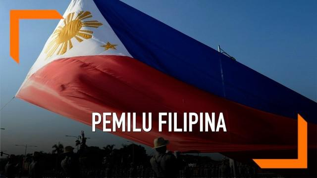 Warga Filipina hari ini menyalurkan hak pilihnya dalam pemilu 2019. Sejak pukul 06.00 TPS sudah dibuka untuk warga. Lalu bagaimana nasib Duterte di pemilu kali ini?