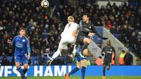 Gol dari Pedro Rodriguez memastikan kemenangan Chelsea atas Leicester City pada babak perempat final Piala FA. (doc. Chelsea)