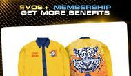 Satu di antara bentuk membership EVOS Esports yang dikelola WHIM Management.