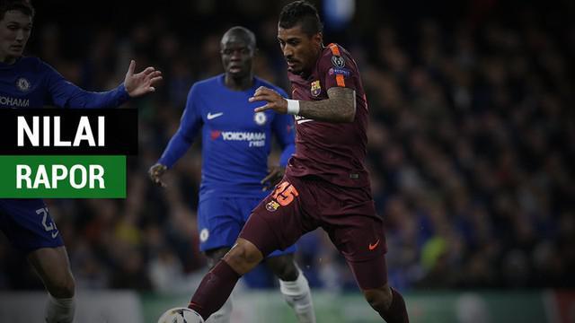 Berita video nilai rapor para pemain Chelsea vs Barcelona yang mengecewakan menurut media Inggris, The Guardian.