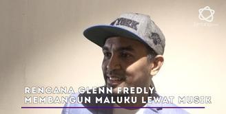 Glenn Fredly menepis isu jika dirinya akan maju sebagai kepala daerah di Maluku