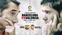 Barcelona vs Valencia (Liputan6.com/Abdillah)