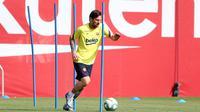 Barcelona sudah kembali berlatih untuk persiapan La Liga dan Liga Champions (AFP)