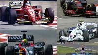 7 Pebalap F1 yang membuat debut sensasional. (Wikipedia/F1 Fanatic/Carenthusiast)