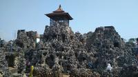 Taman Air Gua Sunyaragi menjadi salah satu tempat pilihan untuk menggelar event seni dan budaya Cirebon tahun 2020. Foto (Liputan6.com / Panji Prayitno)