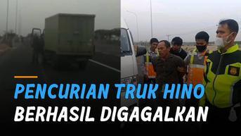 VIDEO: Truk Hino Dicuri, Akhirnya Berhasil Digagalkan Petugas