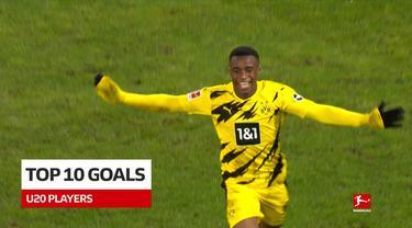 Berita Video Termasuk Gol dari Jude Bellingham dan Jamal Musiala, Berikut 10 Gol Terbaik Wonderkid Bundesliga Musim 2020/2021