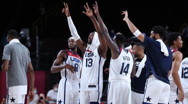 AS ke final cabang bola basket Olimpiade Tokyo 2020