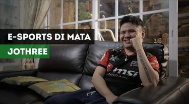 Berita Video Cerahnya Masa Depan E-Sports di Mata Hendry Johtree