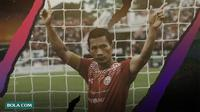 Pemain Persija Jakarta: Ismed Sofyan. (Bola.com/Dody Iryawan)