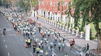 Meriahnya acara Surabaya Marathon 2019 (Sumber: Instagram/surabaya)