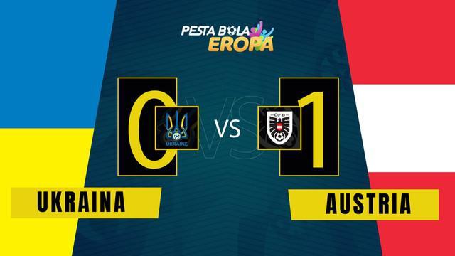 Berita Video, Matchday 3 Grup C Euro 2020 antara Ukraina Vs Austria (0-1) pada Senin (21/6/2021)