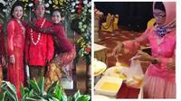 6 Momen Kocak Emak-Emak di Pernikahan Ini Bikin Elus Dada (sumber: Instagram.com/receh.id dan Instagram.com/ngakakkocak)