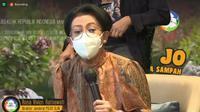 Dirjen PSLB3 Rosa Vivien Ratnawati dalam peluncuran film pendek Bude Jo Mengelola Sampah (Liputan6.com/Komarudin)