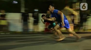 Balap Lari Liar di Bogor