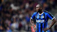 3. Romelu Lukaku (Inter Milan) - 16 Gol (4 Penalti). (AFP/Miguel Medina)