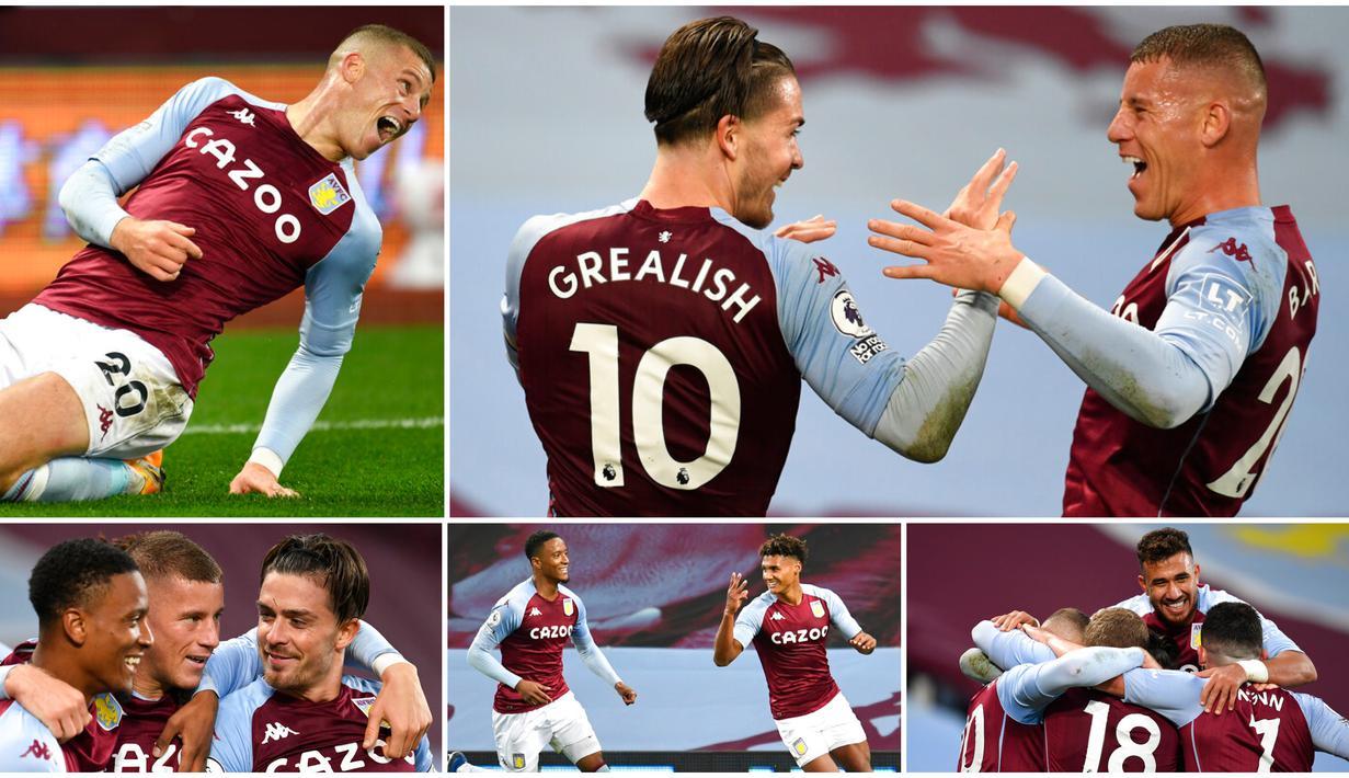 Aston Villa baru saja membuat kejutan besar di Liga Inggris usai menaklukkan juara bertahan Liverpool. Tak tanggung-tanggung, skuat Dean Smith itu mampu menyarangkan tujuh gol ke gawang The reds.