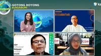 Webinar rangkaian Earth Day Forum 2021: Menuju Biodiesel 40: Risiko dan Tantangan, Rabu (21/4/2021).