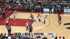 Berita video game recap NBA 2017-2018 antara Toronto Raptors melawan Washington Wizards dengan skor 130-119.