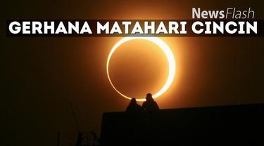 Fenomena Gerhana Matahari Cincin (GMC) akan menyambangi Indonesia pada 1 September 2016. Namun tak semua wilayah di Tanah Air bisa melihat pemandangan tersebut.