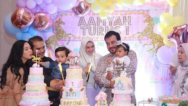 [Fimela] Siti Nurhaliza -Ultah Anaknya