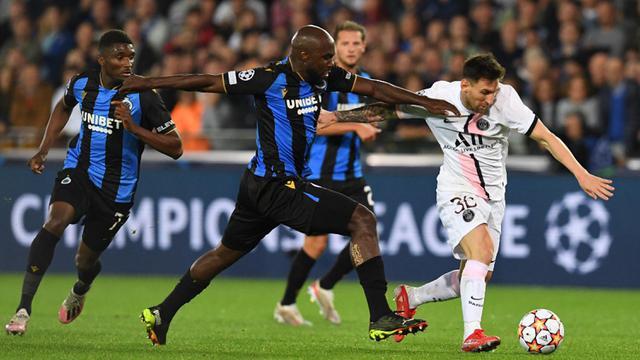 FOTO: PSG Ditahan Imbang Club Brugge di Liga Champions