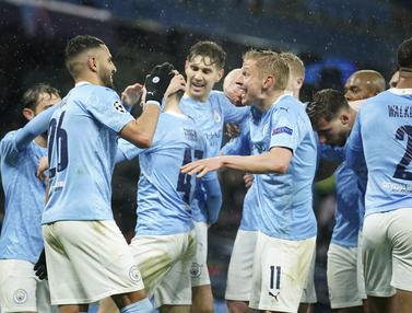 Pertama Kali, Man City ke Final Liga Champions Usai Kalahkan PSG 2-0