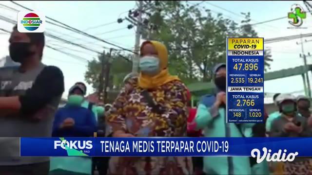 Tenaga medis terakhir yang menjadi korban meninggal akibat Covid-19 adalah SA, Perawat Bagian Poliklinik Eksekutif Rumah Sakit Umum Sidoarjo. Sementara jumlah perawat di Jawa Timur yang terpapar Covid-19 sudah mencapai 110 orang.