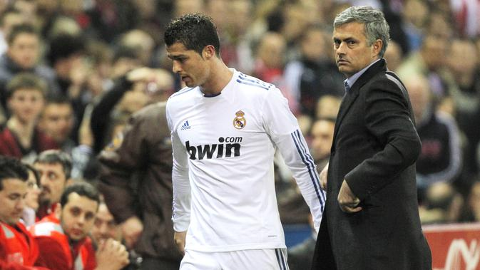 Bintang Real Madrid Ungkap Jose Mourinho Pernah Bikin Cristiano Ronaldo Hampir Menangis