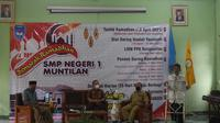 Suasana tarhib Ramadan SMP Negeri 1 Muntilan di Kabupaten Magelang. (foto: Liputan6.com/dok.SMPN1 Muntilan/edhie praytino ige)