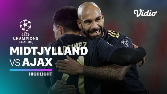 Berita video Ajax Amsterdam menang tipis di matchday 3 Liga Champions 2020/2021 melawan Midtjylland