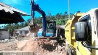 Kerusakan yang terjadi di Kalibening, Banjarnegara akibat gempa 4,4 skala rictcher April 2018 lalu (Foto: Liputan6.com/BPBD BNA/Muhamad Ridlo)