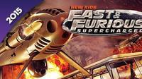 Universal Studios Hollywood akan meresmikan wahana  'Fast and Furious-Supercharged: The Ride' pada 2015. (Foto: Huffingtonpost)