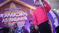 Rizky Febian di panggung Ramadan As Salam AEON Mall BSD City (ist)
