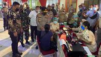 Wali Kota Medan, Bobby Nasution mengatakan, secara keseluruhan, vaksinasi Covid-19 sampai saat ini di Kota Medan telah mencapai 41,21 persen dari target 70 persen
