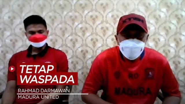 Berita Video, Performa Kian Membaik, Rahmad Darmawan Minta Madura United Tetap Waspada Melawan Persija Jakarta