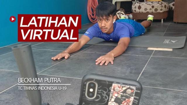 Berita video pemain Persib Bandung, Beckham Putra, menjalani latihan virtual sebagai bagian dari TC (training center) Timnas Indonesia U-19 pada Jumat (29/5/2020).
