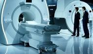 Peralatan medis yang ditampilkan dalam Pameran Kesehatan Dunia Kedua di Wuhan, Provinsi Hubei, China, 11 November 2020. Ajang selama empat hari itu dibuka di Wuhan pada Rabu (11/11), dengan fokus memamerkan ilmu pengetahuan dan teknologi mutakhir dalam industri kesehatan global. (Xinhua/Cheng Min)